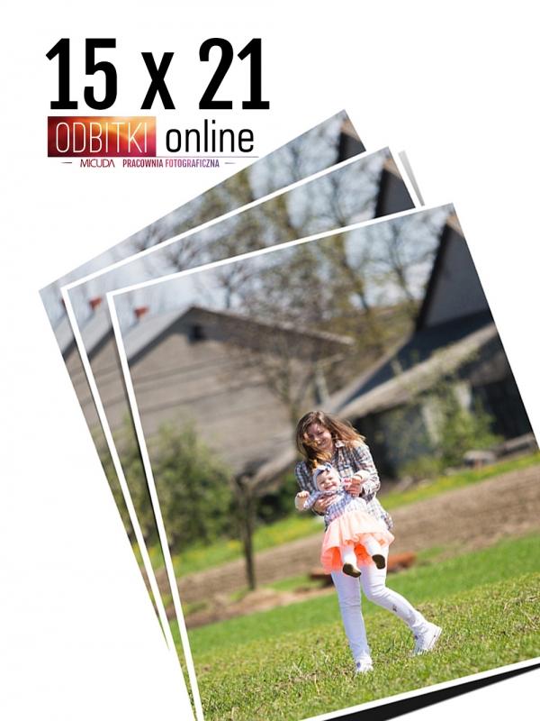 15x21 Odbitka wywoływanie drukowanie zdjęć online