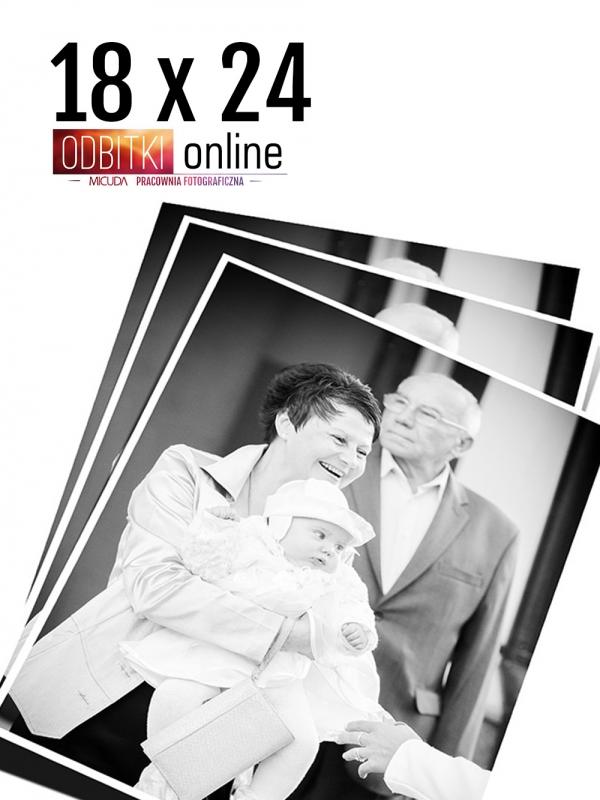 18x24 Odbitka wywoływanie drukowanie zdjęć online