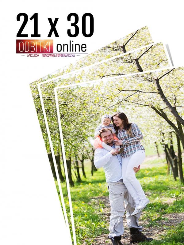 21x30 A4 Odbitka wywoływanie drukowanie zdjęć online