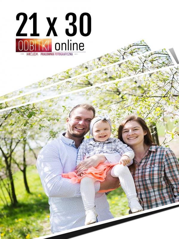 21x30 A4 Odbitka wywoływanie drukowanie zdjęć online ilford