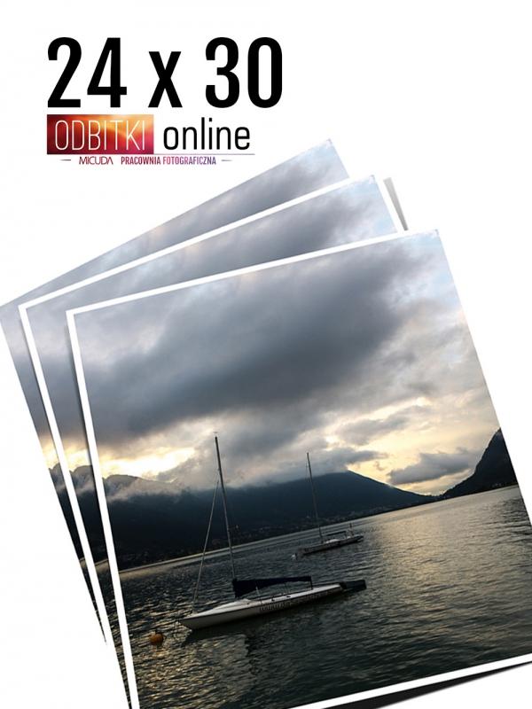 24x30 Odbitka wywoływanie drukowanie zdjęć online