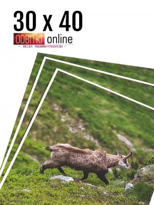 30x40 Odbitka wywoływanie drukowanie zdjęć online