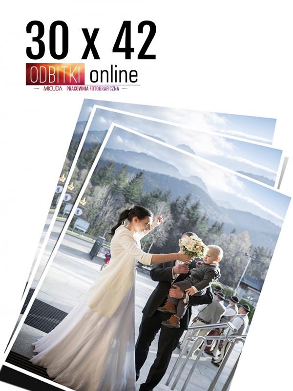 30x42 Odbitka wywoływanie drukowanie zdjęć online