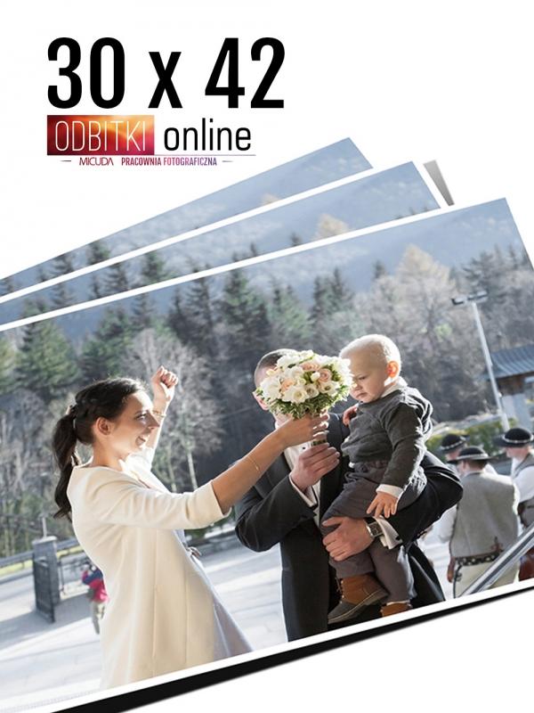 30x42 Odbitka wywoływanie drukowanie zdjęć online ilford