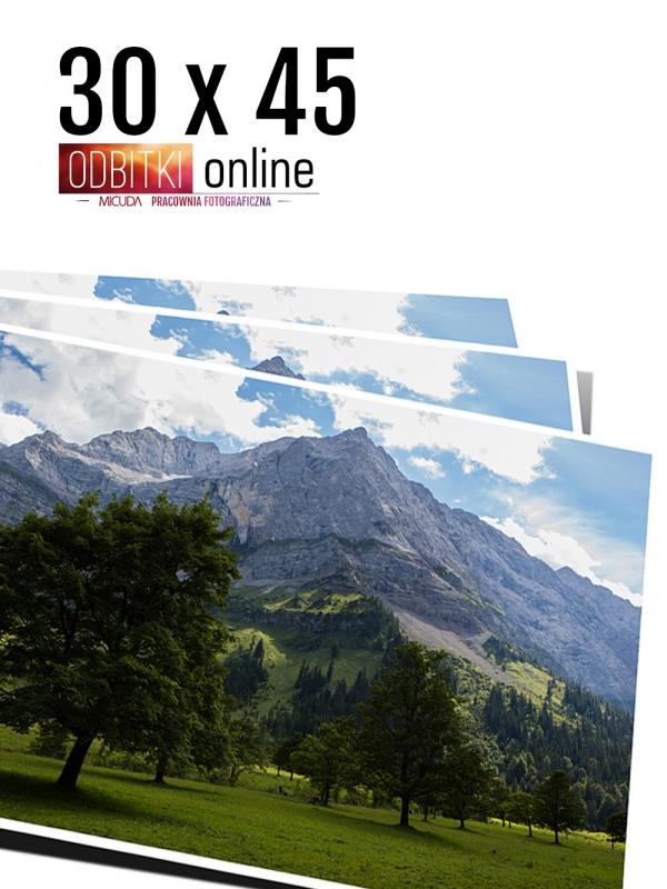 30x45 Odbitka wywoływanie drukowanie zdjęć online ilford