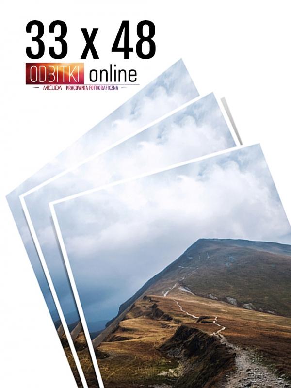 33x48 Odbitka wywoływanie drukowanie zdjęć online