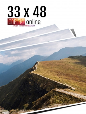 33x48 Odbitka wywoływanie drukowanie zdjęć online ilford