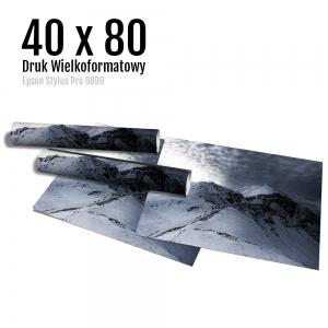 1 Wydruk dużych zdjęć druk posterów odbitki online micuda 40x80 cm