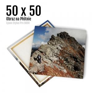 10 Canvas zdjęcia na płótnie obraz kraków Odbitki Online Micuda 50x50 cm Kwadrat