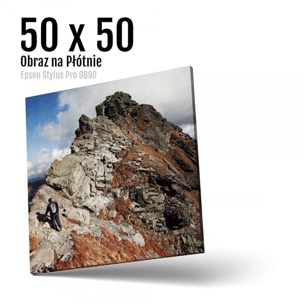 10 Foto obrazy drukowane na płótnie Odbitki Micuda 50x50 cm