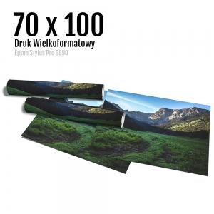 10 Wydruk dużych zdjęć druk posterów odbitki online micuda 70x100 cm