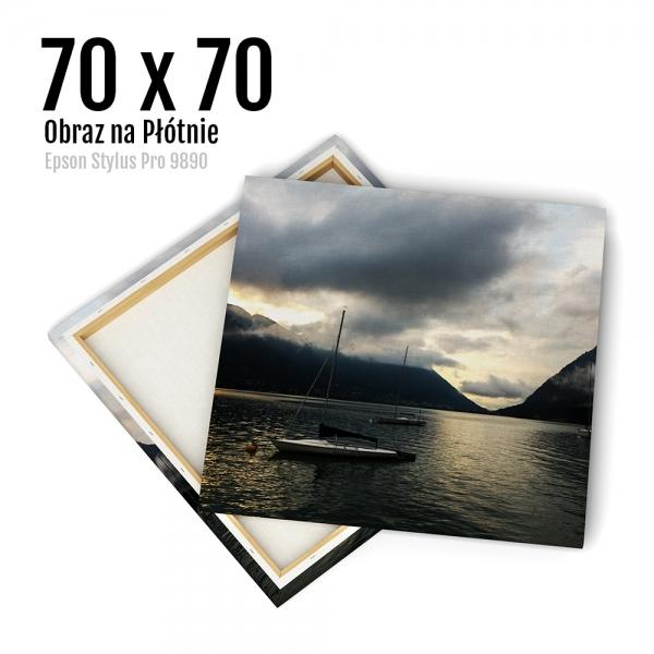 14 Canvas zdjęcia na płótnie obraz kraków Odbitki Online Micuda 70x70 cm Kwadrat