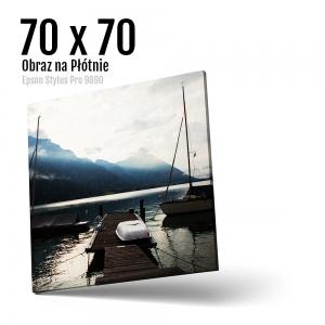 14 Foto obrazy drukowane na płótnie Odbitki Micuda 70x70 cm