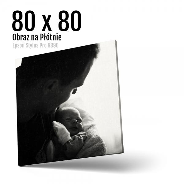 15 Foto obrazy drukowane na płótnie Odbitki Micuda 80x80 cm Kwadrat