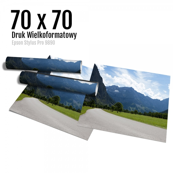 15 Wydruk dużych zdjęć druk posterów odbitki online micuda 70x70 cm