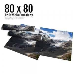 16 Wydruk dużych zdjęć druk posterów odbitki online micuda 80x80 cm