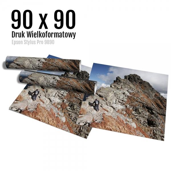17 Wydruk dużych zdjęć druk posterów odbitki online micuda 90x90 cm
