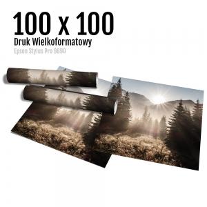 18 Wydruk dużych zdjęć druk posterów odbitki online micuda 100x100 cm