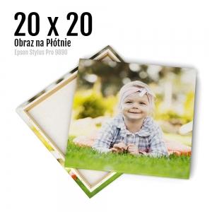 2 Canvas zdjęcia na płótnie obraz kraków Odbitki Online Micuda 20x20 cm Kwadrat