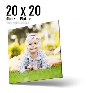 2 Foto obrazy na płótnie z własnego zdjęcia Online 20x20 cm