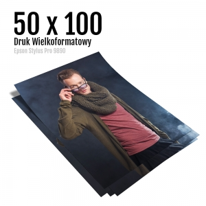 2 Odbitki dużego formatu wydruk zdjęć plakatów pracownia fotograficzna micuda 50x100 cm