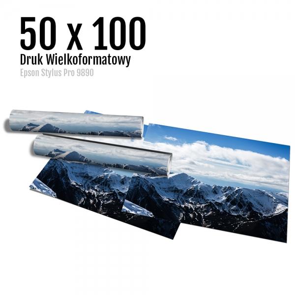 2 Wydruk dużych zdjęć druk posterów odbitki online micuda 50x100 cm