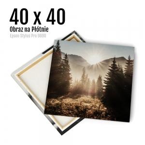 7 Canvas zdjęcia na płótnie obraz kraków Odbitki Online Micuda 40x40 cm