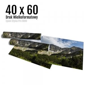 7 Wydruk dużych zdjęć druk posterów odbitki online micuda 40x60 cm