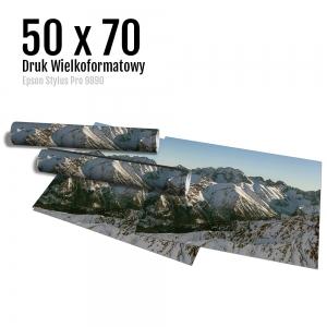 8 Wydruk dużych zdjęć druk posterów odbitki online micuda 50x70 cm