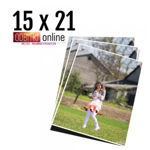 Odbitka 15x21 wywoływanie zdjęć online papier jedwabny