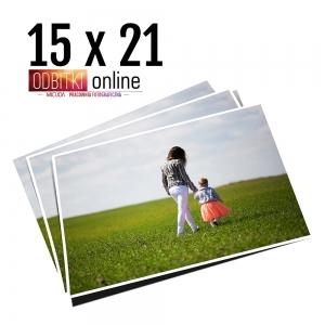 Odbitka 15x21 wywoływanie zdjęć online papier matowy błyszczący