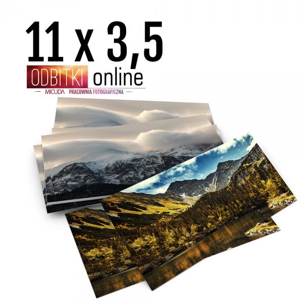 Odbitka 11x3,5 cm ILFORD Panorama Zdjęcie Panoramiczne 1