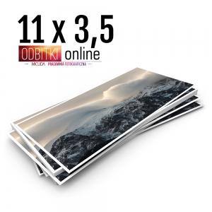 Odbitka 11x3,5 cm ILFORD Panorama Zdjęcie Panoramiczne 3