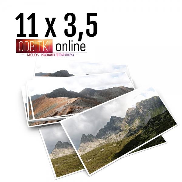 Odbitka 11x3,5 cm ILFORD Panorama Zdjęcie Panoramiczne 4