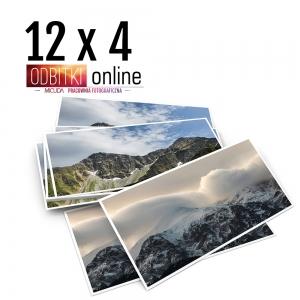 Odbitka 12x4 cm ILFORD Panorama Zdjęcie Panoramiczne 4