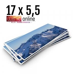 Odbitka 17x5,5 cm ILFORD Panorama Zdjęcie Panoramiczne 3