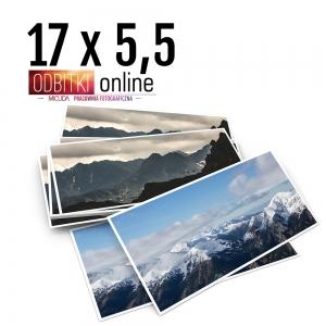 Odbitka 17x5,5 cm ILFORD Panorama Zdjęcie Panoramiczne 4
