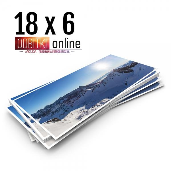 Odbitka 18x6 cm ILFORD Panorama Zdjęcie Panoramiczne 3