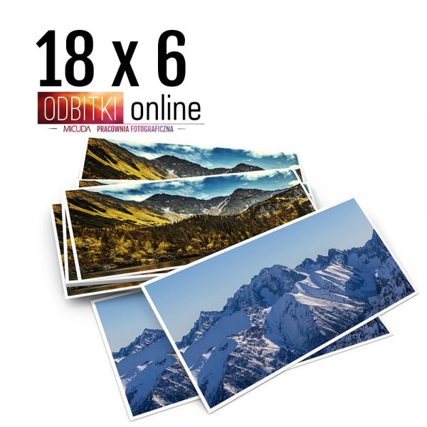 Odbitka 18x6 cm ILFORD Panorama Zdjęcie Panoramiczne 4