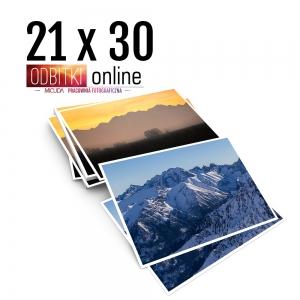 Odbitka 21x30 cm ILFORD Wywoływanie Zdjęć 4