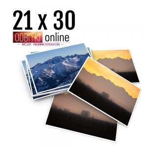 Odbitka 21x30 cm ILFORD Wywoływanie Zdjęć 5