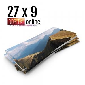 Odbitka 27x9 cm ILFORD Panorama Zdjęcie Panoramiczne 1 Micuda