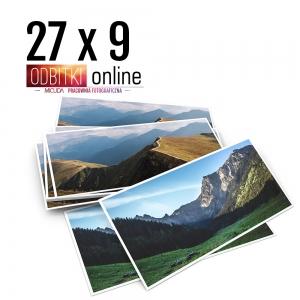 Odbitka 27x9 cm ILFORD Panorama Zdjęcie Panoramiczne 4 Micuda
