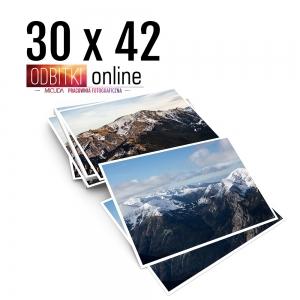 Odbitka 30x42 cm ILFORD Wywoływanie Zdjęć 4