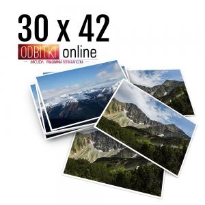 Odbitka 30x42 cm ILFORD Wywoływanie Zdjęć 5