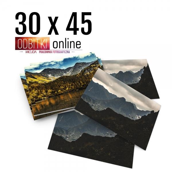 Odbitka 30x45 cm ILFORD Wywoływanie Zdjęć 2