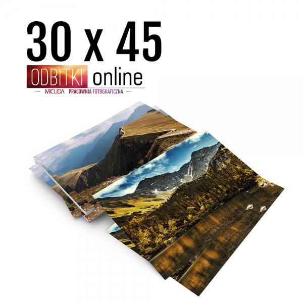 Odbitka 30x45 cm ILFORD Wywoływanie Zdjęć 3