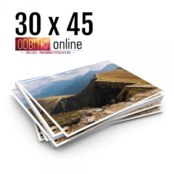 Odbitka 30x45 cm ILFORD Wywoływanie Zdjęć 6