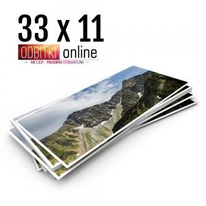 Odbitka 33x11 cm ILFORD Panorama Zdjęcie Panoramiczne 3