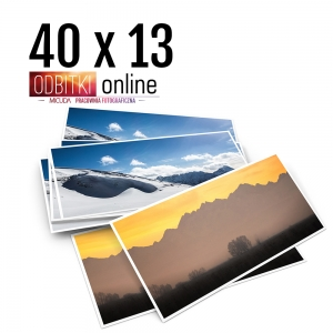 Odbitka 40x13 cm ILFORD Panorama Zdjęcie Panoramiczne 4